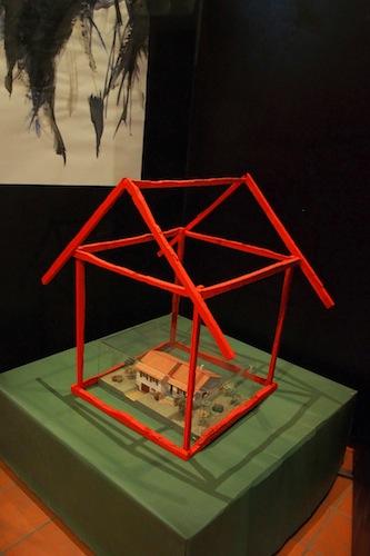 3 Exposition Ta maison de LN Le Cheviller aux CARMES à la Rochefoucauld