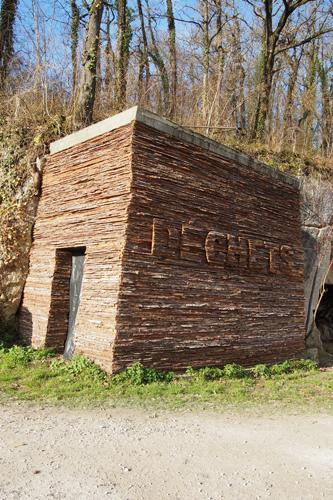 Installation Déchets, de LN Le Cheviller, vue générale 2